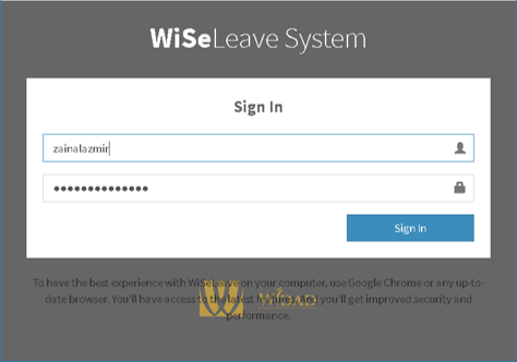 WiSeLeave (Headquarters)
